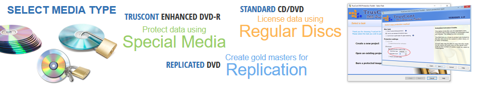 CD, DVD, BD Copy Protection: Copy protection for CDs, DVDs and Blurays